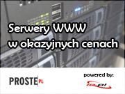 Serwery WWW - poleca RFV.pl